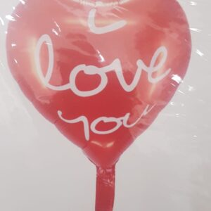 I Love You Heart Balloon